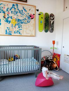 Lulu's Art-Filled Dogtown Digs Kids Tour   AMO ESTE CUARTO