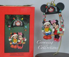 Enesco Disney Holiday Honeys Ornament by CrowningCollections I NEED THIS!