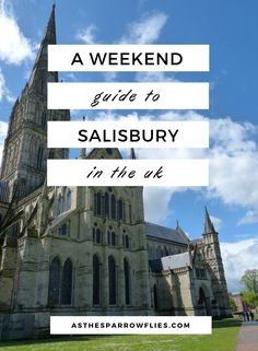 Weekend In Salisbury