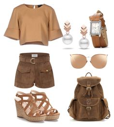 """autumn"" by louiza-ap on Polyvore featuring Frame, The Fifth Label, Jennifer Lopez, Linda Farrow and Escalier"