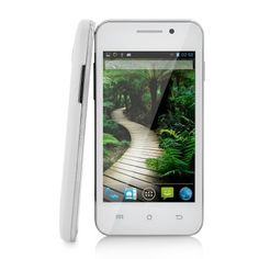 """Budget Android Phone """"Lima"""" - 4 Inch IPS Display, 1.3GHz Dual Core CPU, 3G, Dual Camera (White) http://www.chinavasion.com/china/wholesale/Android_Phones/Normal_Screen_Android_Phones/Budget_Android_Phone_Lima_-_4_Inch_IPS_Display_1.3GHz_Dual_Cor_CPU_3G_Dual_Camera_White/"""