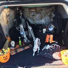 trunk or treat witch style witch stylecar decoratingtrunk