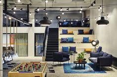 ESCRITÓRIO DE TECNOLOGIA DESPOJADO #arquitetura #decoracao #interiores #office #escritório #designdeinteriores #tecnologia #archi #architecture