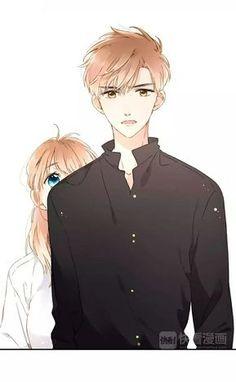 Love is Cherry Blossom Romantic Anime Couples, Anime Couples Manga, Chica Anime Manga, Cute Anime Couples, Anime Guys, Manga Couple, Anime Love Couple, Manga Romance, Cute Couple Art