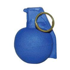 Rings Blue Guns FSBBG Urethane Replica Blue M67 Baseball Grenade Simulator