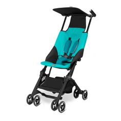 The new gb Pockit is an extremely lightweight stroller that fits into your backpack when folded. Perfect for travelling by airplane or when you are on the move or out and about.