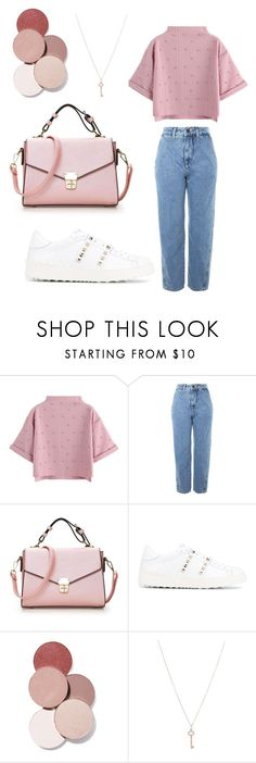 """Untitled #40"" by farahalmazyad ❤ liked on Polyvore featuring Topshop, Valentino, LunatiCK Cosmetic Labs, Tiffany & Co., girlpower and powerlook"