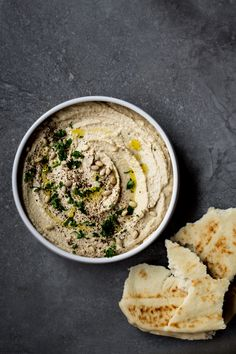 Miso Tahini Hummus | Dishing Up the Dirt | Bloglovin'