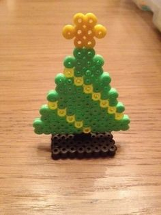 Hama Bead Standing Christmas Tree