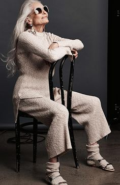 Daphne Selfe is 86 and still modelling. Photography: Gary Heery