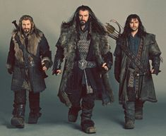 Thorin, Kili and Fili