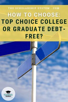 So, how should your child decide between attending their top choice college and the ability to graduate debt free? Here are some tips for weighing their options. College Admission Essay, College Planning, College Graduation, Kids Health, Debt Free, Social Skills, Choices, Parenting, Student