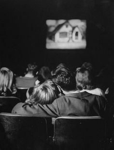 .Movie dates - oh yes the ability to sit close together without being considered too close...