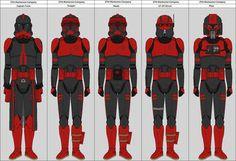 Battalion Commander Cardinal by ProducerBenzo on DeviantArt Star Wars Concept Art, Star Wars Fan Art, Star Wars Pictures, Star Wars Images, Fantasy Star, Fantasy Dress, Star Wars Timeline, Star Wars Light Saber, Red Team
