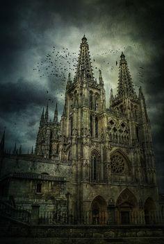 La catedral de Burgos, patrimonio de la humanidad. Castilla, Spain. #Catedral #Church #God