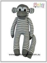 Oliver the Sock Monkey Boys Socks, Tigger, Making Out, Cute Kids, Grey And White, Cuddling, Smurfs, Adoption, Sock Monkeys