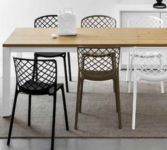 Great new extending dining table for either kitchen dinner or dining room. #Calligaris #Baron #Planked #Oak