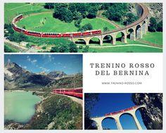 Il #treninorossodelbernina è un #viaggio da provare assolutamente! Ecco tutte le informazioni, la storia i #percorsi, le #curiosità sul #treno che collega l' #Italia alla #Svizzera.