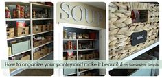 How to organize your pantry and make it beautiful