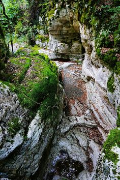 Wall canyon, Mt Tymfi, North Pindus