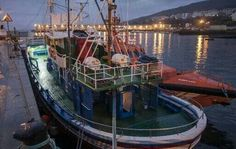 Puerto de Burela (Lugo). Galicia. Spain.