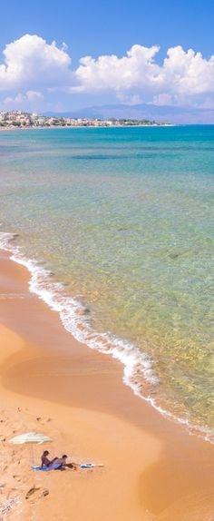 Stalos Beach, Chania, Crete, Greece - I can't wait until I'm on the beach!