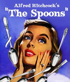 Multiple Sclerosis...Alfred Hitchcock's horror remake film...The Spoon...what are we to do when we run out of spoons...we are out of energy to function in our lives