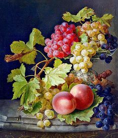 Oil Painting Pictures, Pictures To Paint, Art Pictures, Fruit Painting, China Painting, Watercolor Landscape, Watercolor Paintings, Foto Transfer, Still Life Fruit