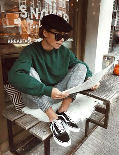 20 Edgy Fall Street Style 2018 Copy Outfits - Cool S .- 20 Edgy Fall Street Style 2018 Outfits zum Kopieren – Cool Style 20 Edgy Fall Street Style 2018 Outfits for Copy - Autumn Fashion Casual, Fall Fashion Trends, Casual Fall, Indie Fashion Winter, Fashion Bloggers, Fashion Ideas, Fashion Images, Fashion Styles, Autumn Winter Fashion