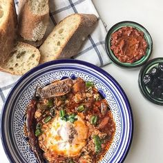 Need some #brunch inspiration? Look no further than our ojja (sometimes called shakshuka though not quite the same). {Link in profile} . . . . . #breakfast #eggs #shakshuka #tunisia #tunisie #petitdej #foodblogger #instafood #sundaybrunch #lefooding #recette #yummy #delicious #food #homemade #eattheworld #recipes #food52 #thekitchn #saveur #foodporn #getinmybelly #maghreb #tunisianfoodies #foodie #hungry #f52grams