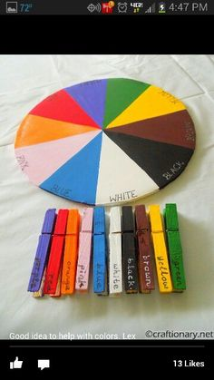 Learning colors