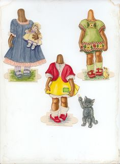 HATTIE – A PAPER DOLL | Marges8's Blog