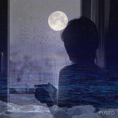 الجوّ هـ الليلة حنين  والصدر يشهق بـ الحكي ، رآيح و لا أدري لـ وين  أحتاج عابر ، واشتكي ..❥   #احتااج  #تمنيتك