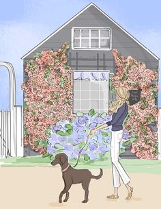 Wall Art for Women Weekend in Nantucket Hello Weekend. from artist and author, Heather Stillufsen Bon Weekend, Hello Weekend, Happy Weekend, Friday Weekend, Nantucket, Illustrations, Illustration Art, Rose Hill Designs, Weekender