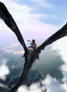 Dragon Rider on Behance