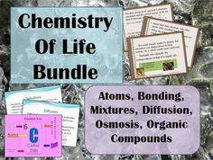 The basic concepts of the matter, atoms, mixtures, solutions, diffusion & organic compounds are necessary for future understanding of cells and living things. This lesson introduces these concepts in a clear and concise way that will engage your class.
