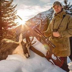 Success isn't given it's earned. #sauer404 #chamois #hunting #sauer404synchroxt #alps by sauer_usa