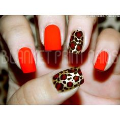 love the red leopard