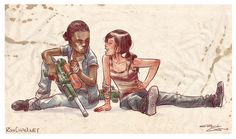 The Last of Us: Left Behind - Riley and Ellie <3