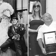 YSK Danny devito once guest starred on Sesame Street in the After 30 years they are getting back together for a reunion. Some Things Never Change, Danny Devito, It's Always Sunny, Getting Back Together, Beach Volleyball, 13 Year Olds, Social Media Content, Image Macro, Best Funny Pictures