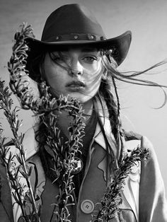 cowgirls - Field of Dreams: Daga Ziober by Nicolas Kantor for QVEST #62