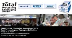 PAKEX/PPMA /Interphex Birmingham 2013 Total Processing and Packaging Exhibition  버밍햄 포장 박람회
