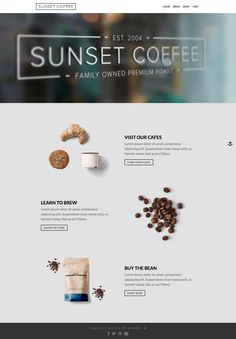 Sunset Coffee - Layers WooCommerce Theme • Download ➝…