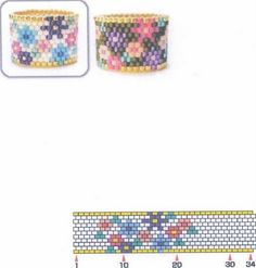 they bead up fast! Peyote Stitch Patterns, Seed Bead Patterns, Beaded Jewelry Patterns, Beading Patterns, Seed Bead Crafts, Seed Bead Jewelry, Bead Jewellery, Wire Jewelry, Beaded Beads