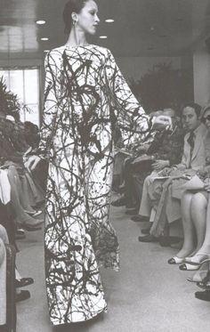 Kết quả hình ảnh cho abstract expressionism 1950 fashion