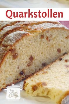 This easy German Christmas Stollen recipe uses cottage cheese to keep it moist. Make this when you're in a hurry - no yeast is used - and it tastes so-o-o-o good! -- anytime of the year