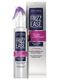 John Frieda USA Frizz Ease 3Day Straight #3DayStraightLove I am so excited to try this product on my naturally curly hair.