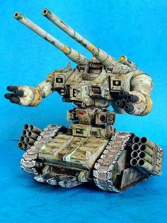 Amazing MG 1/100 GUNTANK Custom: Work by bear. Photoreview, WIP too. No.24 Images http://www.gunjap.net/site/?p=244863