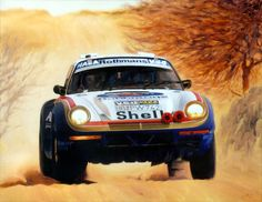 René Metge/Porsche 959/Paris-Algiers-Dakar/1986