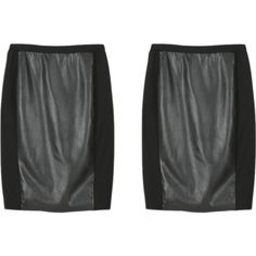 Untitled #9761. Kut From the Kloth Masie Faux  Leather Panel Pencil Skirt. Absolutely LOVE this. Nice material.  Fix #3 KEPT Price $68,keep all discount $51m